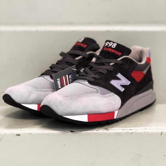 competitive price c6695 28a4b New Balance 998 Age of Exploration Suede Sneakers
